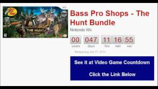 Bass Pro Shops - The Hunt Bundle Wii Countdown