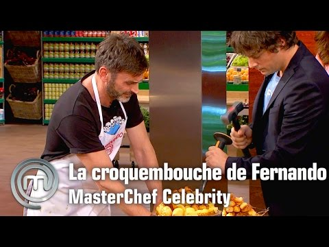 La dura croquembouche de Fernando | MasterChef Celebrity | Programa 3