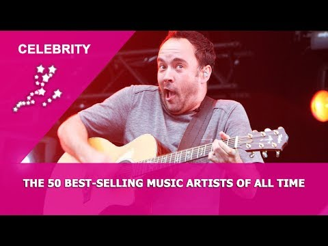 Celebrity - The 50 best-selling music artists of all time