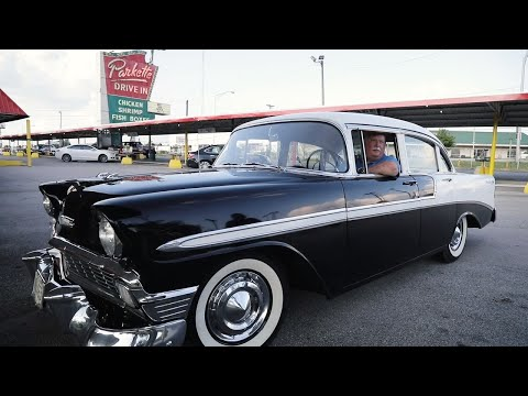 Retired police officer reunites with his first car: a 1956 Chevy Bel Air