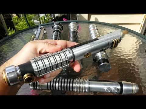 Custom and Replica Lightsaber Hilts