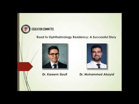 Road to Ophthalmology Residency: A Successful Story