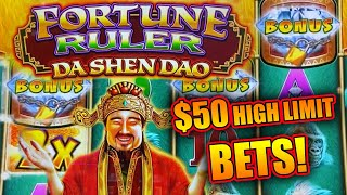 HOW TO BUY A BONUS & WIN! ★ $50 BETS ON FORTUNE RULER & RAGING RAMPAGE ➜ BONUS & LIVE SLOT PLAY