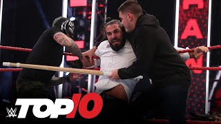 Top 10 Raw moments: WWE Top 10, Aug. 17, 2020