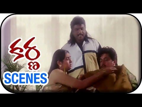 Karnaa Movie Scenes | Arjun Acting Before...