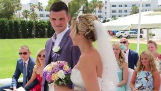 The Cyprus Wedding of Claire and Matt, Garden of Eden. Ayia Napa
