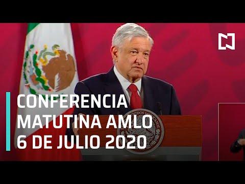 Conferencia matutina AMLO/ 6 de Julio 2020