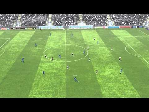 Fulham 1 Chelsea 3 Match Highlights FM2012 02112019