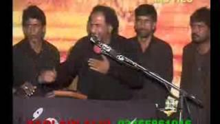 Zakir Manzoor Hussain shah of Kot Addou majlis 8 muharam Ashra 1436 Gujrat