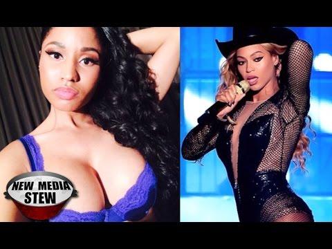 Nicki Minaj Copies Beyonce BEYONCE, NICKI ...