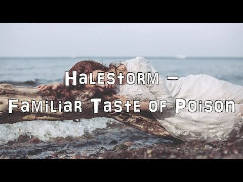 Halestorm - Familiar Taste of Poison [Acoustic Cover.Lyrics.Karaoke]