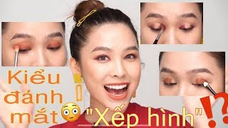 Makeup Tutorial For Beginners - Eyes Makeup | Cách đánh mắt siêu dễ cho bạn mới bắt đầu