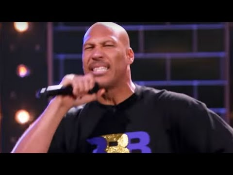 LaVar Ball DEFILES Nas' Rap Classic 'Hate Me Now' on Lip Sync Battle