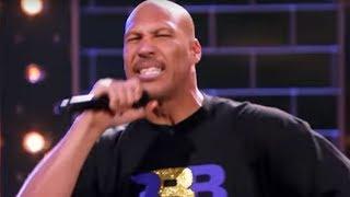 LaVar Ball DEFILES Nas' Rap Classic 'Hate Me Now' on Lip Sync Battle