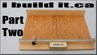How To Make A Table Saw Sled Part 2