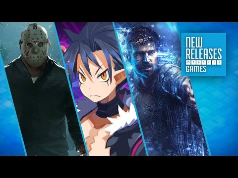 Friday The 13th, Disgaea 5 Complete, Ultra Street Fighter 2: The Final Challengers - New Releases
