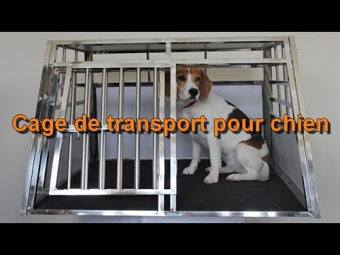 cage de transport pour chien esraa youtube. Black Bedroom Furniture Sets. Home Design Ideas