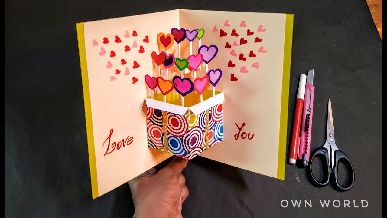 Beautiful Birthday Greeting Card Idea DIY Birthday POP
