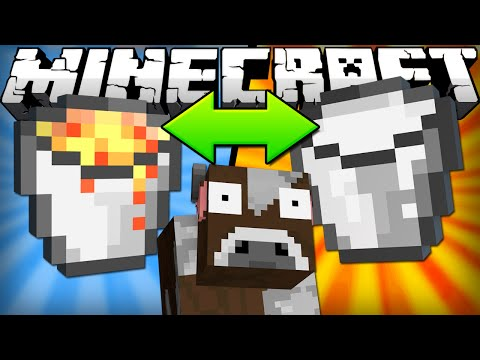 Thumbnail: If Lava and Milk Switched Places - Minecraft