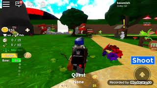Roblox I'm going to play a mini game