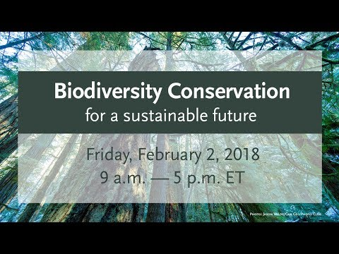 Biodiversity Conservation for a Sustainable Future