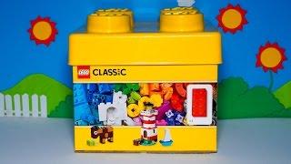 Mở hộp bộ đồ chơi xếp hình Lego - Thùng gạch sáng tạo LEGO 10692 Classic Creative 221 miếng