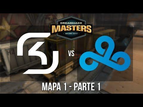 Dreamhack Malmö 2017 - SK Gaming vs. Cloud 9 (Mapa 1 - Train - Parte 1/2) - Narração PT-BR