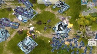Starcraft-like Gameplay on Mobile   Gates of War iOS/Android Gameplay 2017