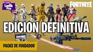 DEFINITIVE EDITION CONTENT! FORTNITE SAVE THE WORLD SPANISH GUIDE
