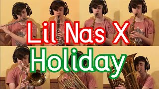 Lil Nas X Holiday Full Band MP3