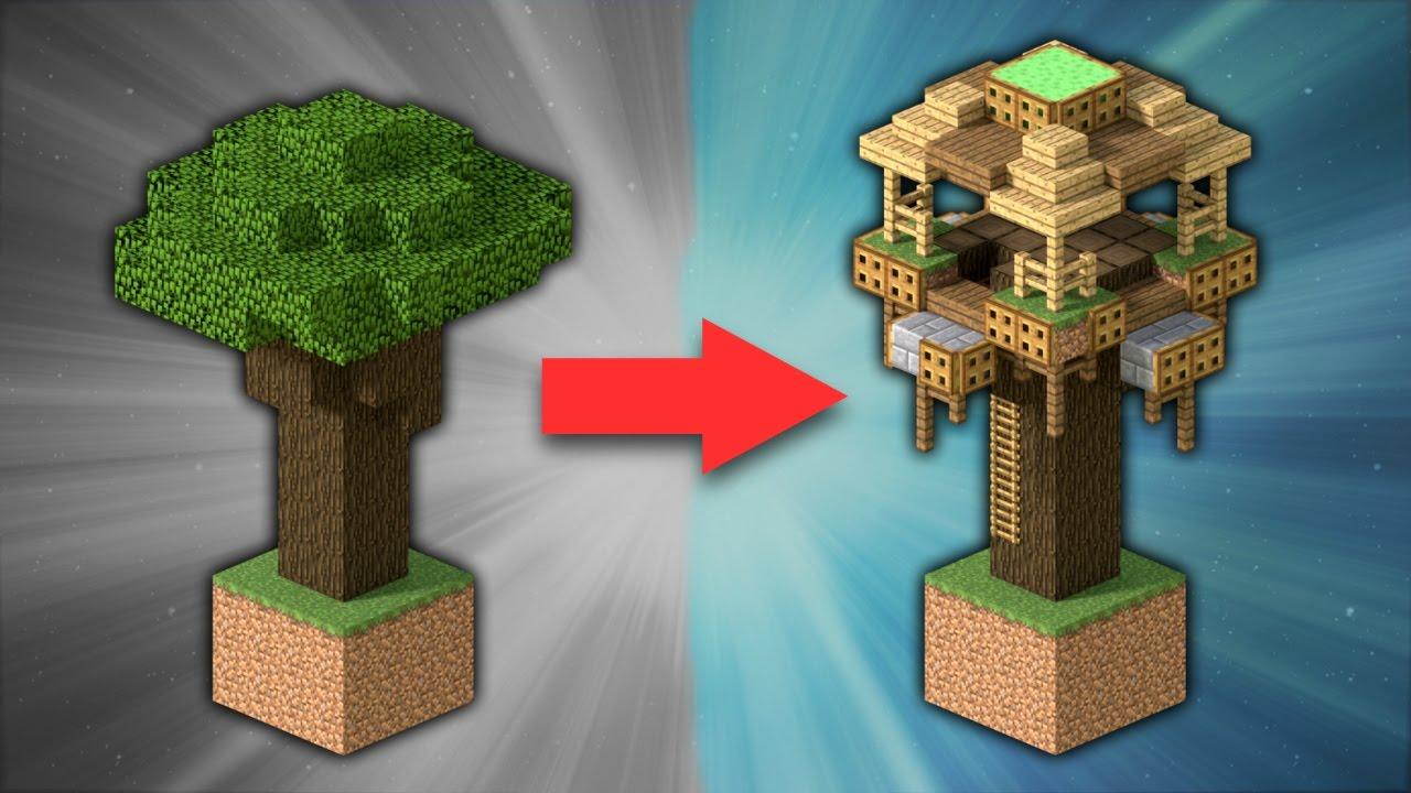 Minecraft Oak House Designs