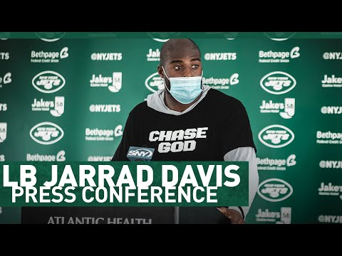 """We Got To Push All Day, Everyday"" | Jarrad Davis Media Availability | The New York Jets | NFL"