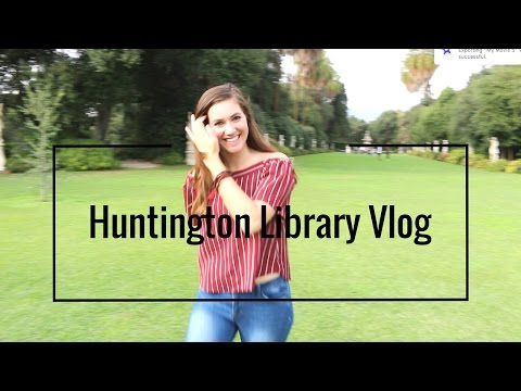 THINGS TO DO IN LA | HUNTINGTON LIBRARY & GARDENS!