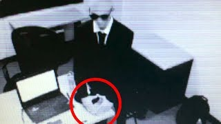 Men in Black Caught on Tape by Security Camera