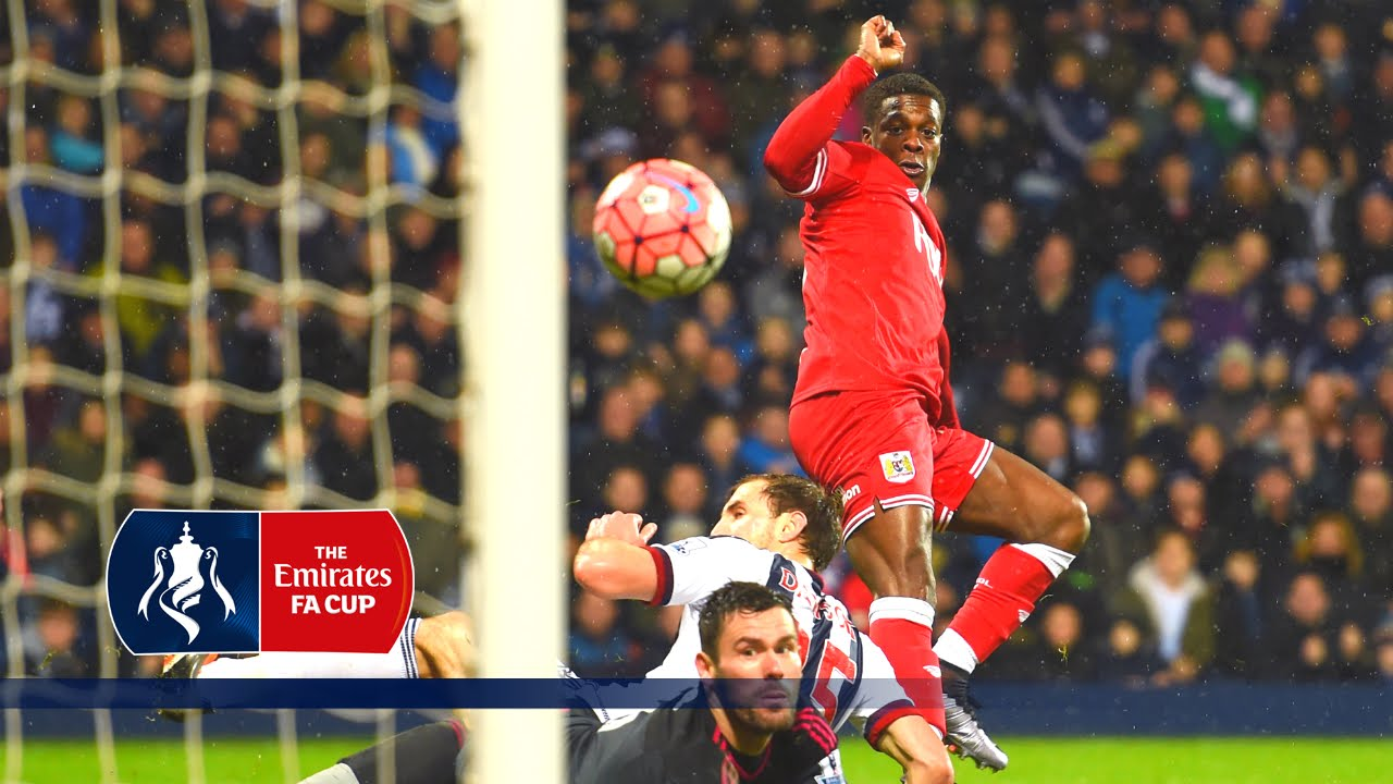 West Brom 2-2 Bristol City - Emirates FA Cup 2015/16 (R3) | Goals & Highlights