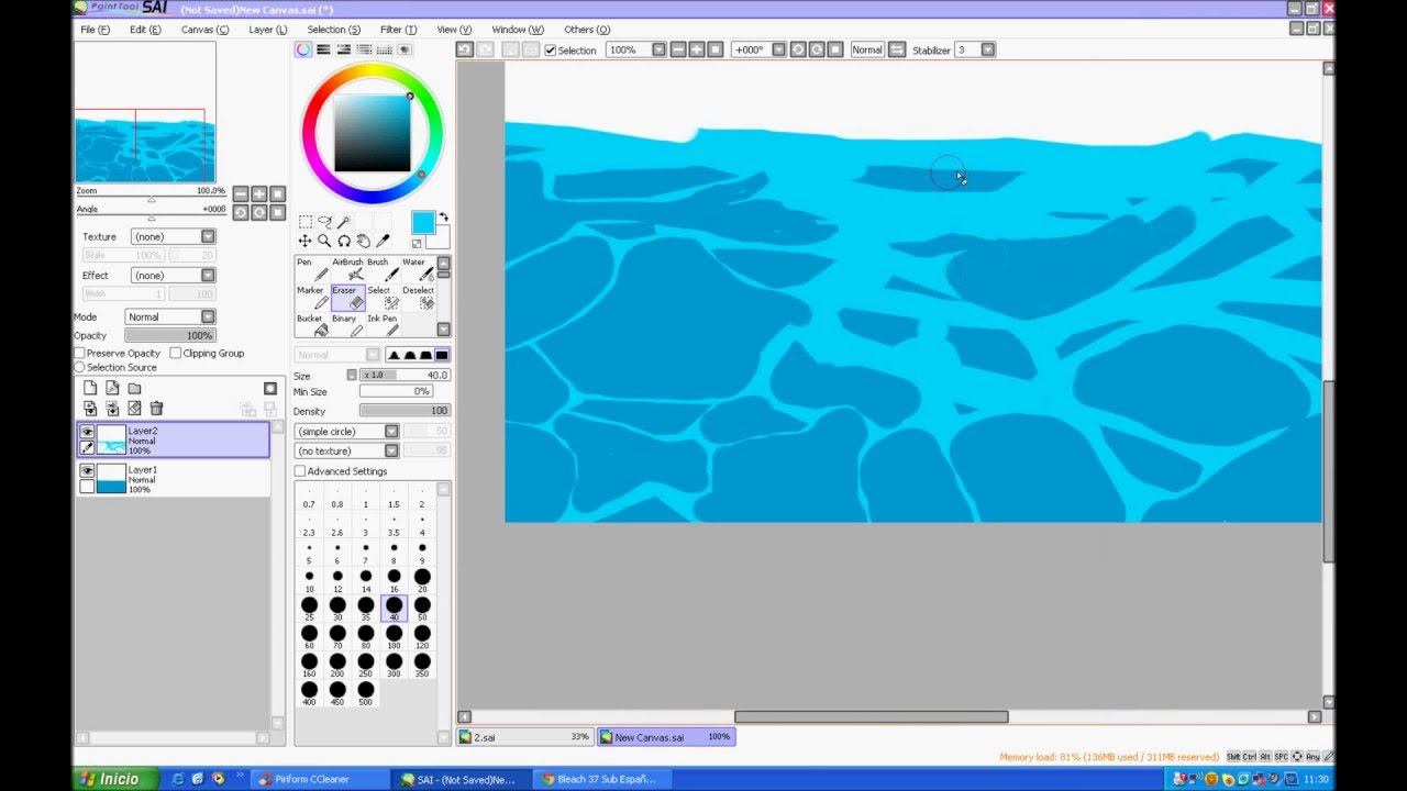 Painting water tutorial digital painting basics concept art.