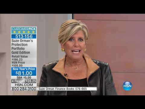 HSN | Suze Orman Financial Solutions for You 01.22.2017 - 04 PM