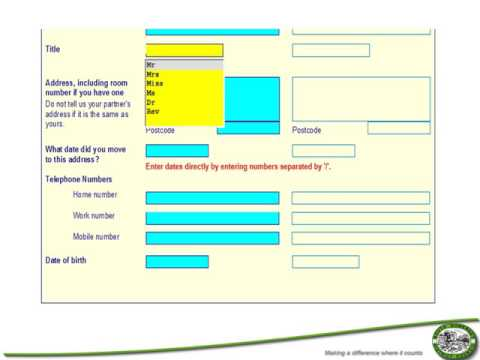 Making An Online Housing Benefit And/or Council Tax Support Application Online