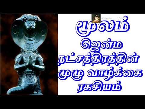 மூலம்  ஜென்ம நட்சத்திரம் - Sattaimuni Nathar