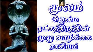 மூலம்  ஜென்ம நட்சத்திரம்   Sattaimuni Nathar