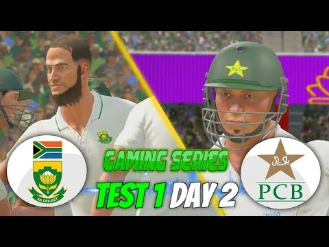 PAKISTAN (PGE) TOUR OF SOUTH AFRICA (GAMING SERIES) - 1ST TEST DAY 2 - DON BRADMAN CRICKET 17