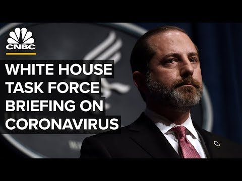 White House Coronavirus Task Force Holds A Briefing On The Outbreak – 2/25/2020