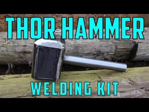 HOW TO MAKE A THOR HAMMER (WELDING KIT)