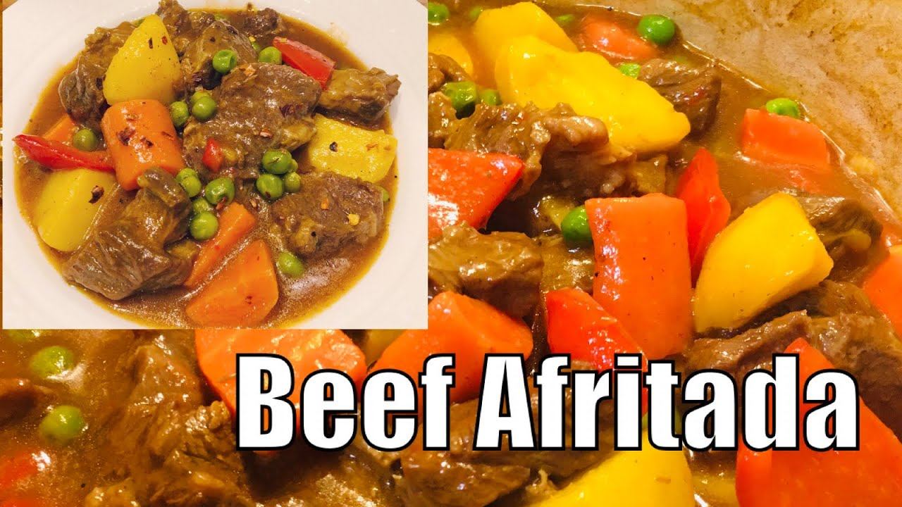 How To Cook Beef Afritada L Afritadang Baka Youtube