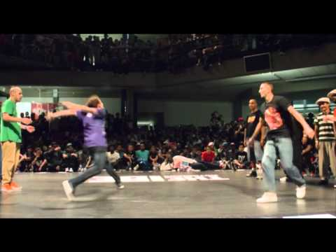 Stand up battle Legion X  France Vs. Germany [IBE 2011]