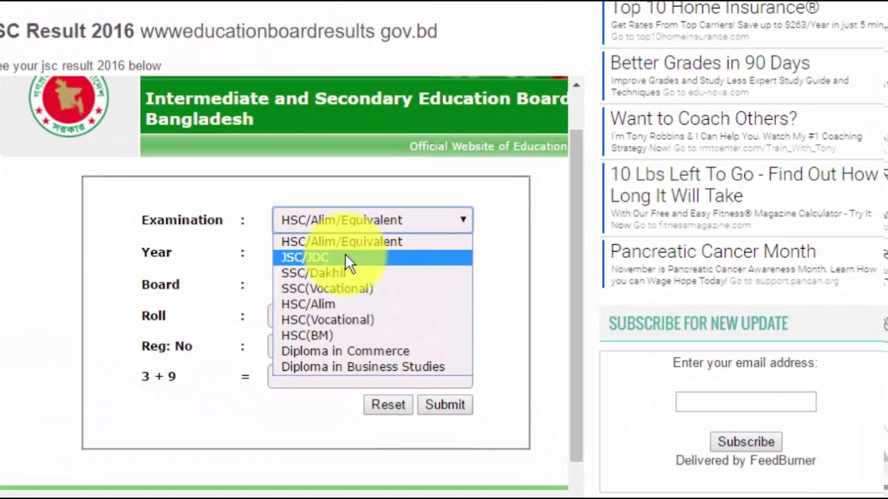 jsc result 2018 www educationboardresults gov bd youtube rh youtube com