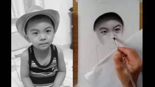 Portrait Drawing _ Vẽ Chân Dung- DP