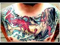AMAZING JAPANESE WATER TATTOOS ART DESIGNS FOR MEN AND WOMEN