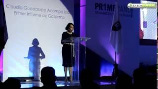 """""""Lo mas Importante"""" del Pr1mer Informe de Gobierno de Claudia Acompa Islas"""