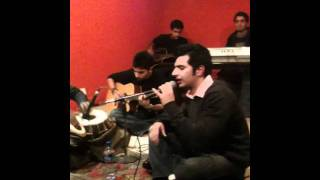 Shehryar Tiwana with his second number at TKF's Open Mic Jan 2012